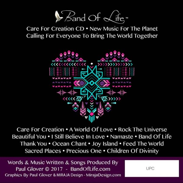Band Of Life Care For Creation Back