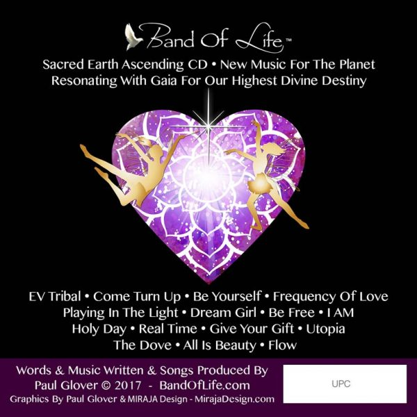Band Of Life Sacred Earth Ascending Back